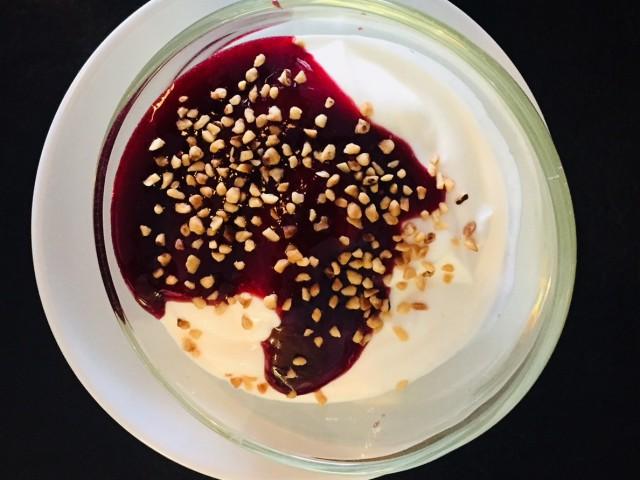 Le 31 Panacotta et son coulis de fruits rouges maison